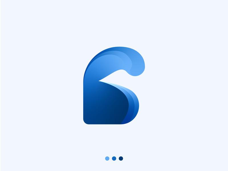 Letter B Logo Mark