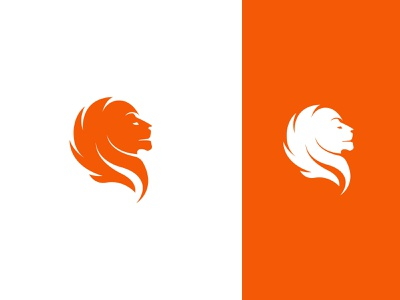 LION brand illustration vector graphicdesign logodesign key success powerfull bold animal head lion monogram icon symbol branding logo