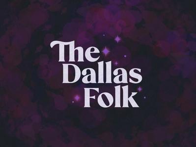 The Dallas Folk procreate illustration logo branding design graphic design