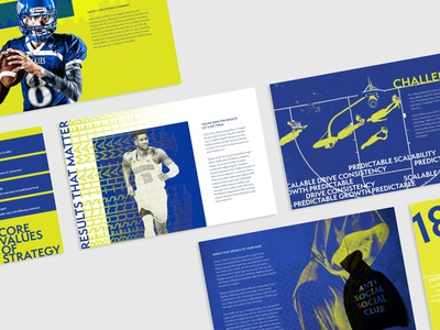 Experimental Case Study marketing agency marketing influencer sports deck request for proposal print design deck design deck rfp case study