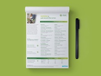 Quest Diagnostics Tear Pad