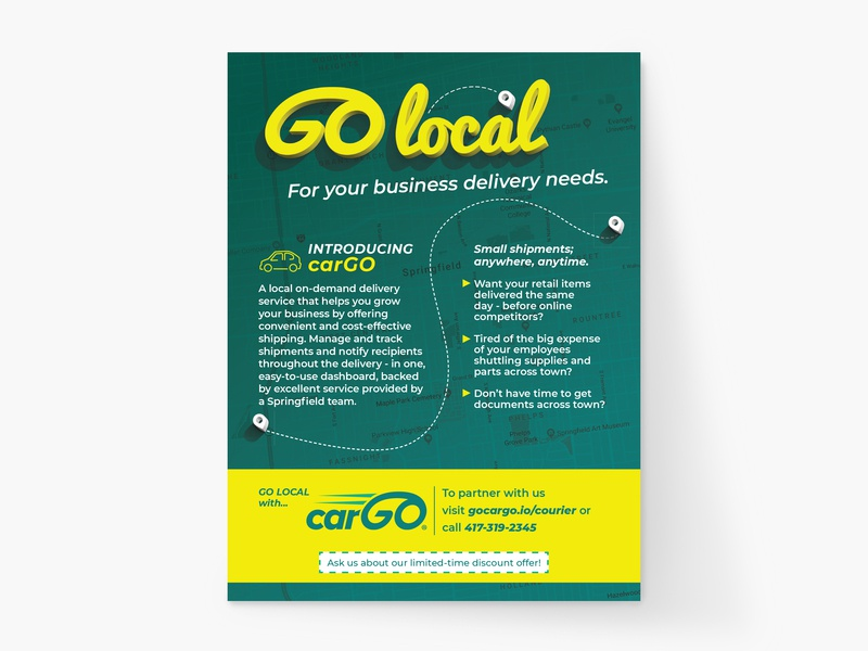 Cargo Magazine Print Ad cargo print marketing print ad magazine ad magazine design print design marketing graphic design print