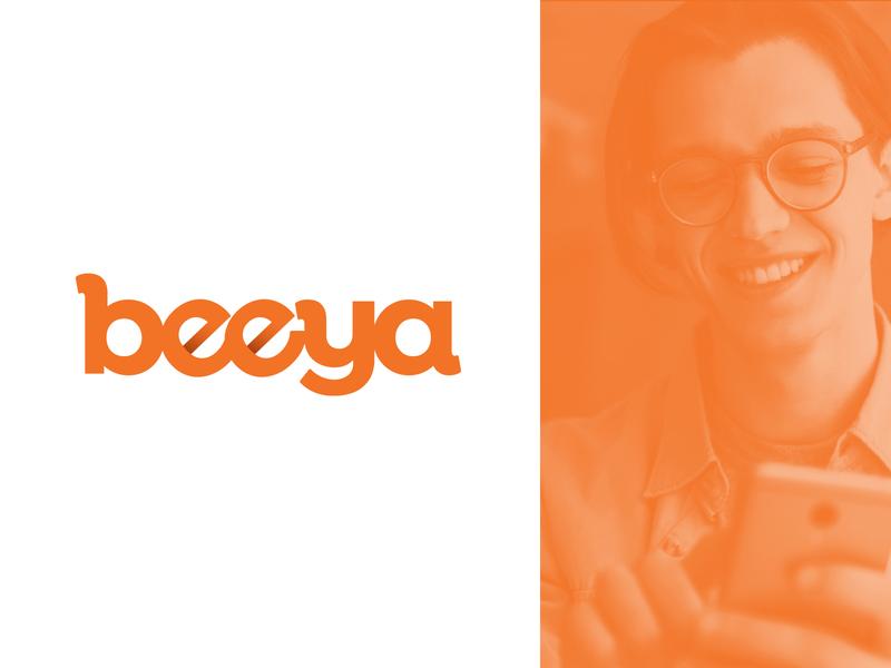 Beeya illustration logo branding graphic design logo design