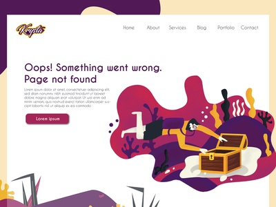 Erroe 404: Page not found illustration