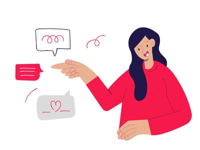 Client service illustration