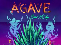 Agave Album Cover Psychedelic Cumbia