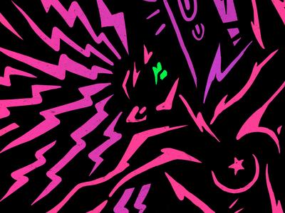 Caliente. Tropical terror Album design