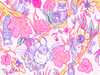 Pattern design for festival clothing brand