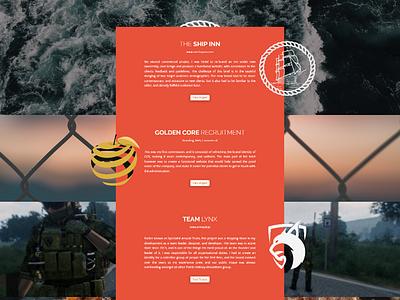 Creative Portfolio Layout web design portfolio