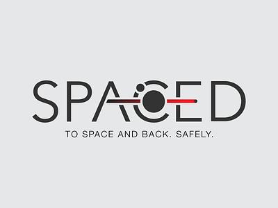 SPACED - Logo development design branding brand development challenge logo spaced space