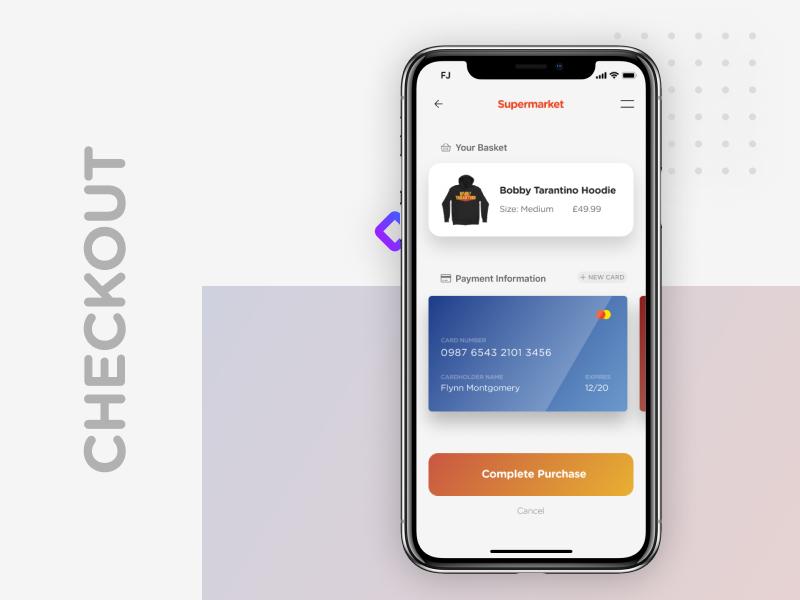 Daily UI #2 shop ecommerce purchase app design uidesign dailyui002 checkout logic ux ui dailyui