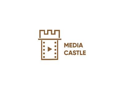 Media Castle logo inspiration illustrator logotype design logo