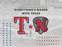 Texas Rangers x Nashville Sounds