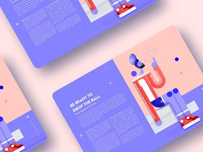 Online Magazine forbes ball basketball typogaphy web editorial illustration editorial design editorial magazine online magazine