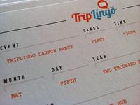TripLingo Invitation