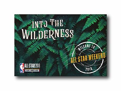 NBA All Star Game Invitations star all print card invite basketball nba