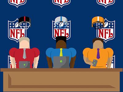 NFL Playbook design sports nfl illustration website football