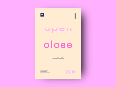 Type Poster Tuesday v2 poster brand typography print layout