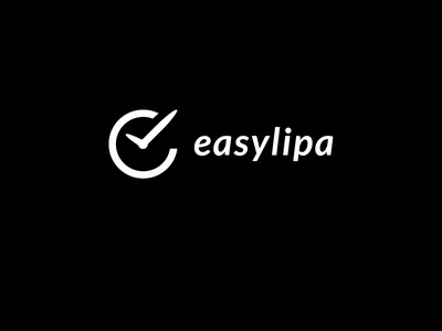 Easylipa Logo flat adobe photoshop vector minimal logo logodesign illustration adobe illustrator design branding