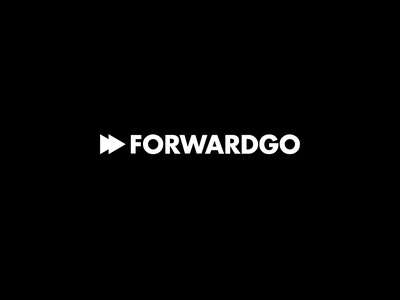 ForwardGo logo flat adobe photoshop vector minimal logodesign logo illustration adobe illustrator design branding