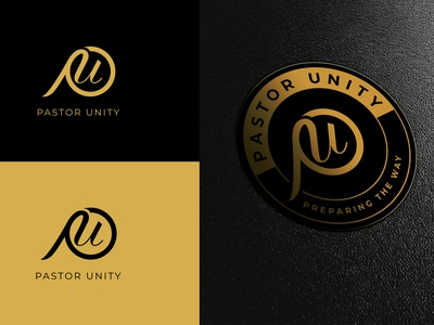 Pastor Unity Logo Portfolio logo designer adobe photoshop vector minimal logodesign logo illustration adobe illustrator design branding