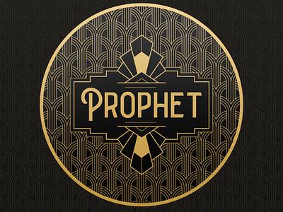 Prophet pattern logo art noveau stickers