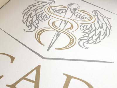 House of Cad symbol logo design