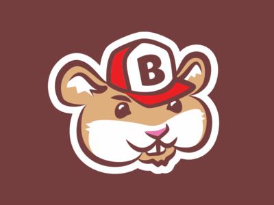 Bits mascot hamster illustration character mascot