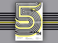 Poster: 5th anniversary