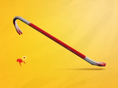 The One Crowbar to Rule them All half-life crowbar weapon vector headcrab with love no boom blood