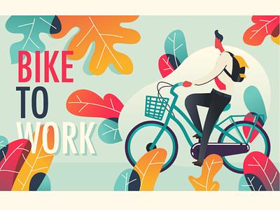 bike to work city bike bicycle b2w biking