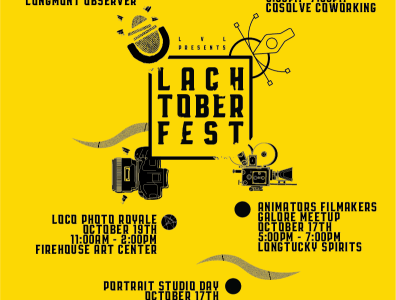 Lach-Tober-Fest 2019 events graphics photography colorado branding logo typography illustrator adobe design