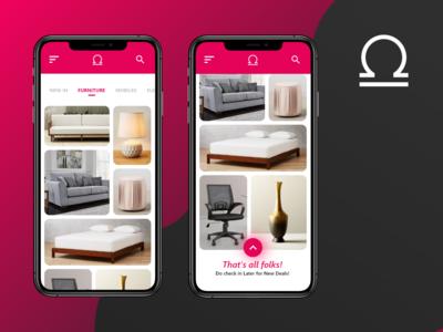 Home Page / Catalog - Barter App UI