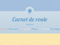 Route map – Legend