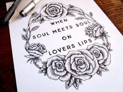 WIP When Soul Meets Soul On Lovers Lips