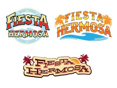 Fiesta Hermosa Logos
