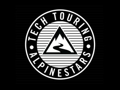 Teck Touring Logo for Alpinestars