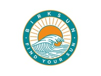 Birksun Find Your Sun Sticker