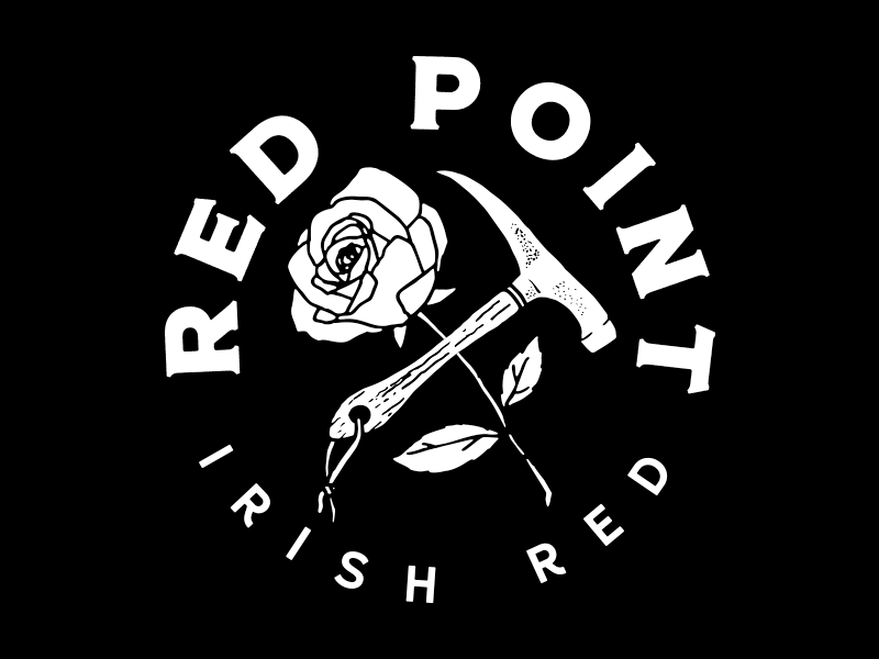 Red Point Irish Red apparel graphic beer vector illustrate design illustrator graphic design