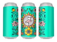 Flamingo Brew Can (Unbranded )