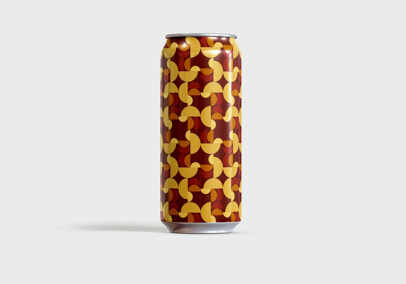 Not the Wurst Kölsch pattern design beer can beer patterns art pattern art pattern branding design minimal graphic design simple vector illustration illustrator illustration vector