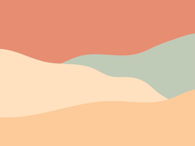 Exploration No. 13 — Desert Views design minimal line art graphic design simple vector illustration illustrator illustration vector