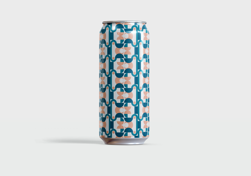 Wave Pool Porter — No. 16 color palette colors beer can color minimal beer pattern graphic design simple vector illustration illustrator illustration vector