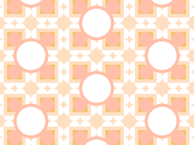 Pattern and Color Exploration No 20 — Peaches and Cream