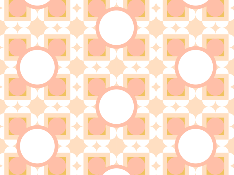 Pattern and Color Exploration No 20 — Peaches and Cream pattern art color theory design pattern color minimal graphic design simple vector illustration illustrator illustration vector