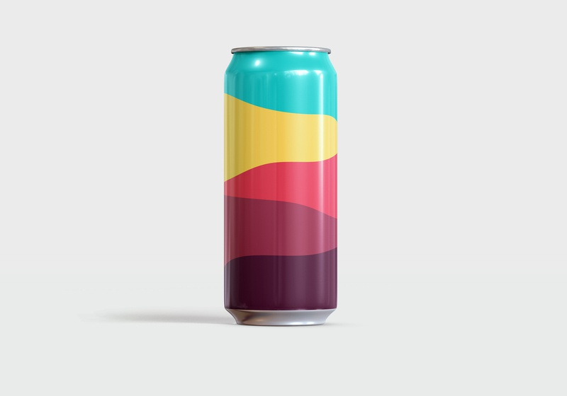 Are We Stout Of The Woods — Exploration No. 21 beer can packaging design vector illustration pattern art beer color theory color pattern minimal graphic design simple illustrator illustration vector