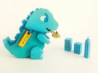 Godzilla Toy!