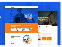Ostion - Construction & Industry Building Company Template