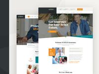 idvero - Insurance Company PSD Template