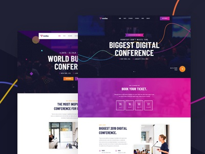 Voelas - Modern Event & Conference Organization Template